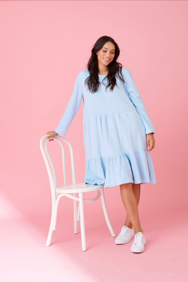 Millie Dress - Baby Blue