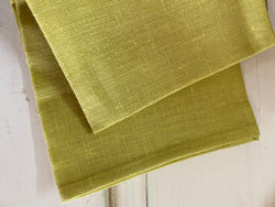 Lesueur Linen Tea Towel - Citron