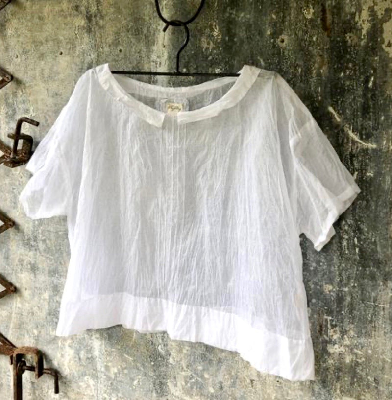 Paper Daisy Top - White