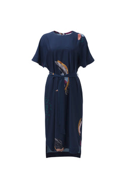 Carelle Dress - Ink Multi