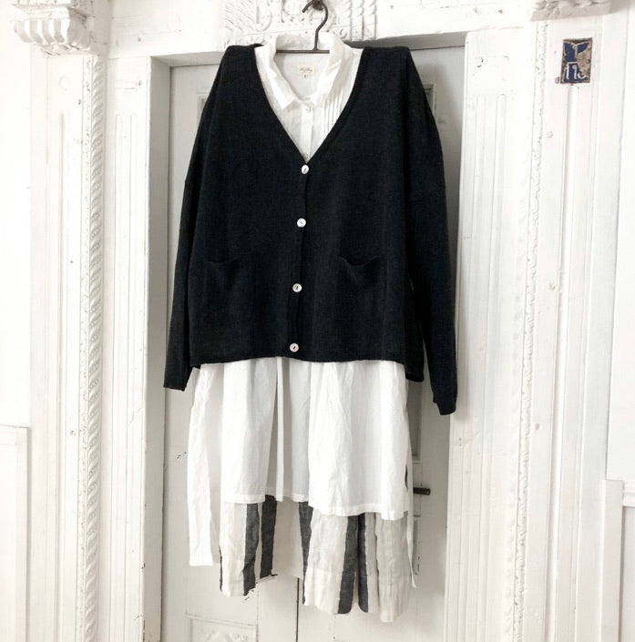 Freya Cardigan - Black