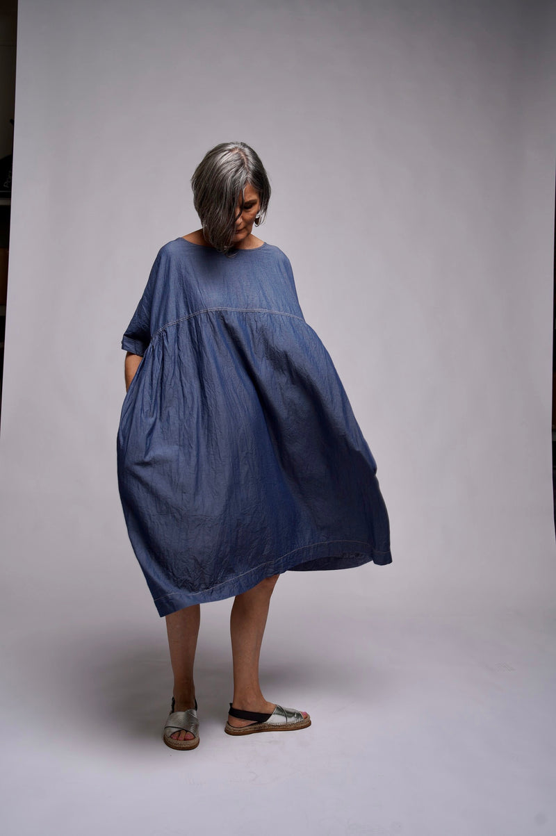 1770 Dress - Denim