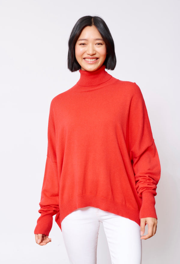A Polo Bay Sweater - Blush