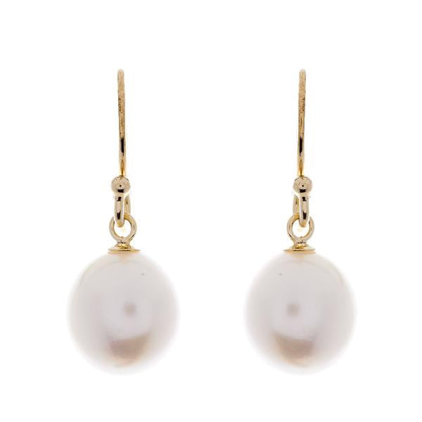 Freshwater Baroque Pearl Earring on French Hook