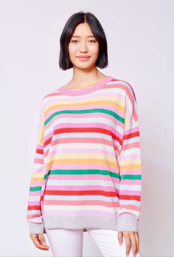 Van Gough Cashmere Sweater - Fuschia