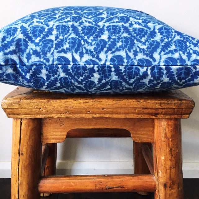 Indigo Print Cushion Cover