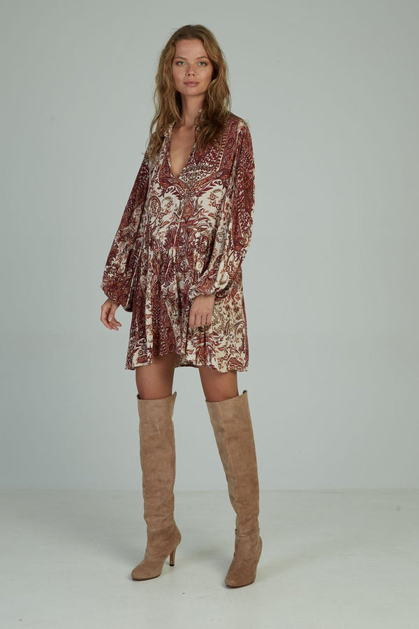Kailani Dress - Paisley Wines