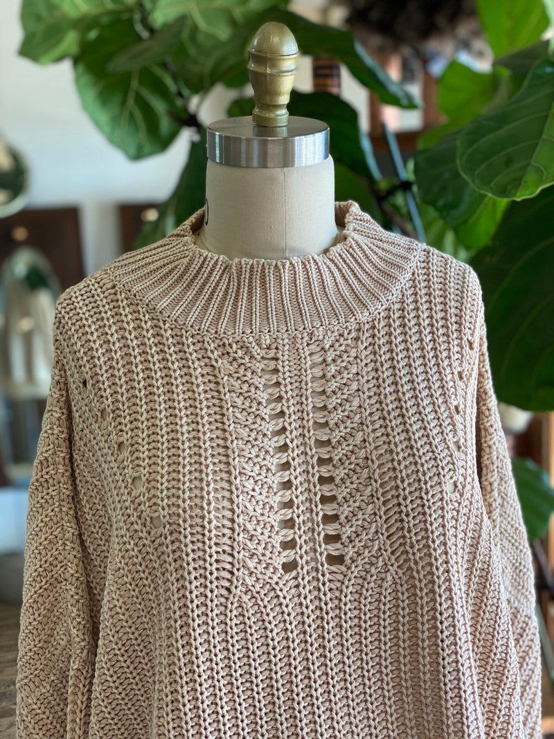 Presley Knit - Cream