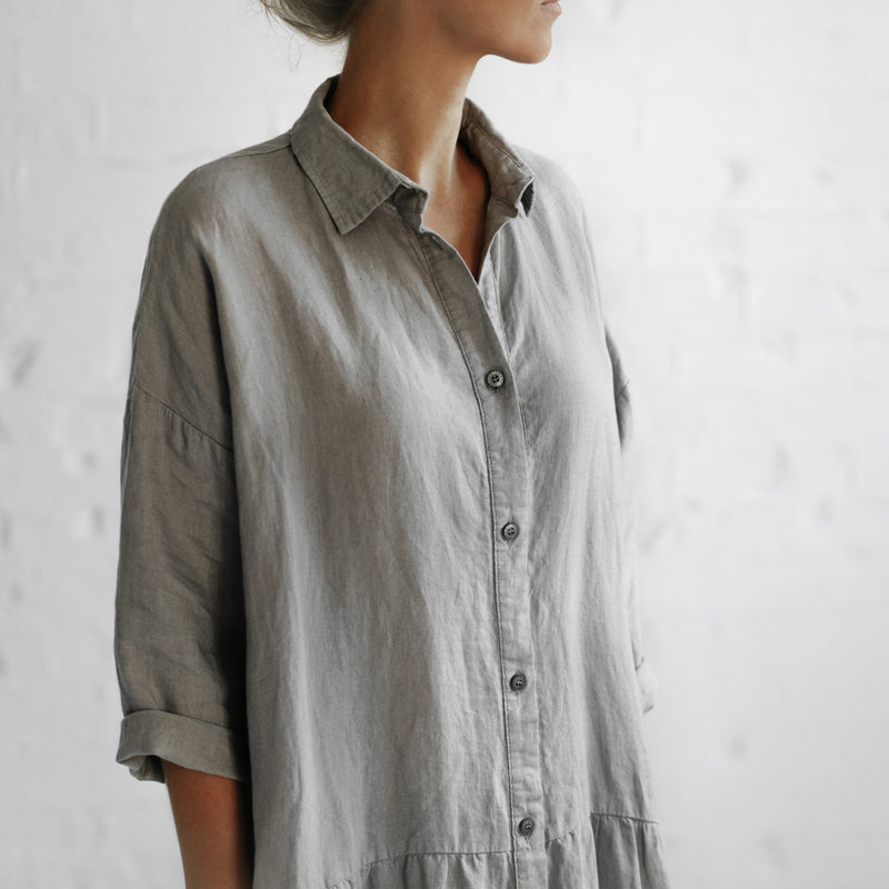 Oversized Dress - Light Grey
