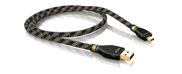 VIABLUE™ KR-2 SILVER USB CABLE 2.0 A/MINI-B
