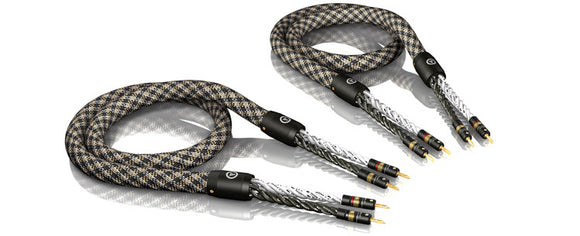 VIABLUE™ SC-6 SINGLE-WIRE/T6 BANANA PLUGS [1 PAIR]