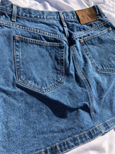 Load image into Gallery viewer, 90s Calvin Klein Jean Skirt