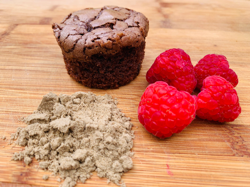 Choc Raspberry Cricket Powder Brownie