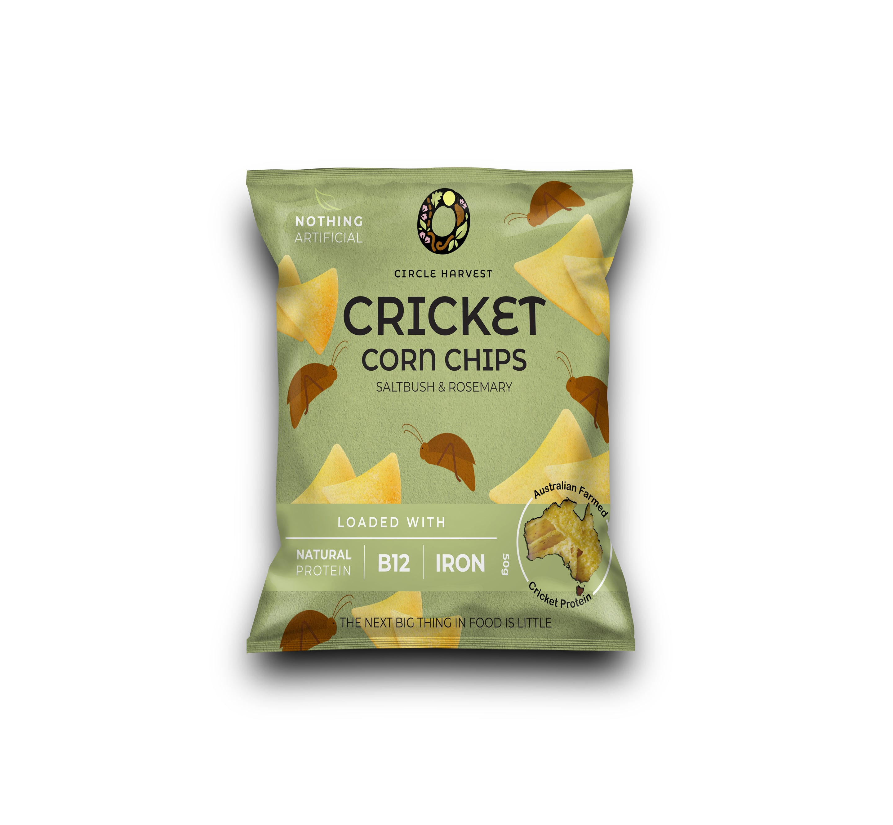 Cricket Corn Chips 50g