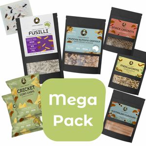 Mega Edible Insect Gift Pack