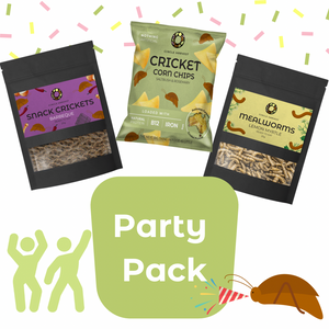 Edible Insect Party Pack