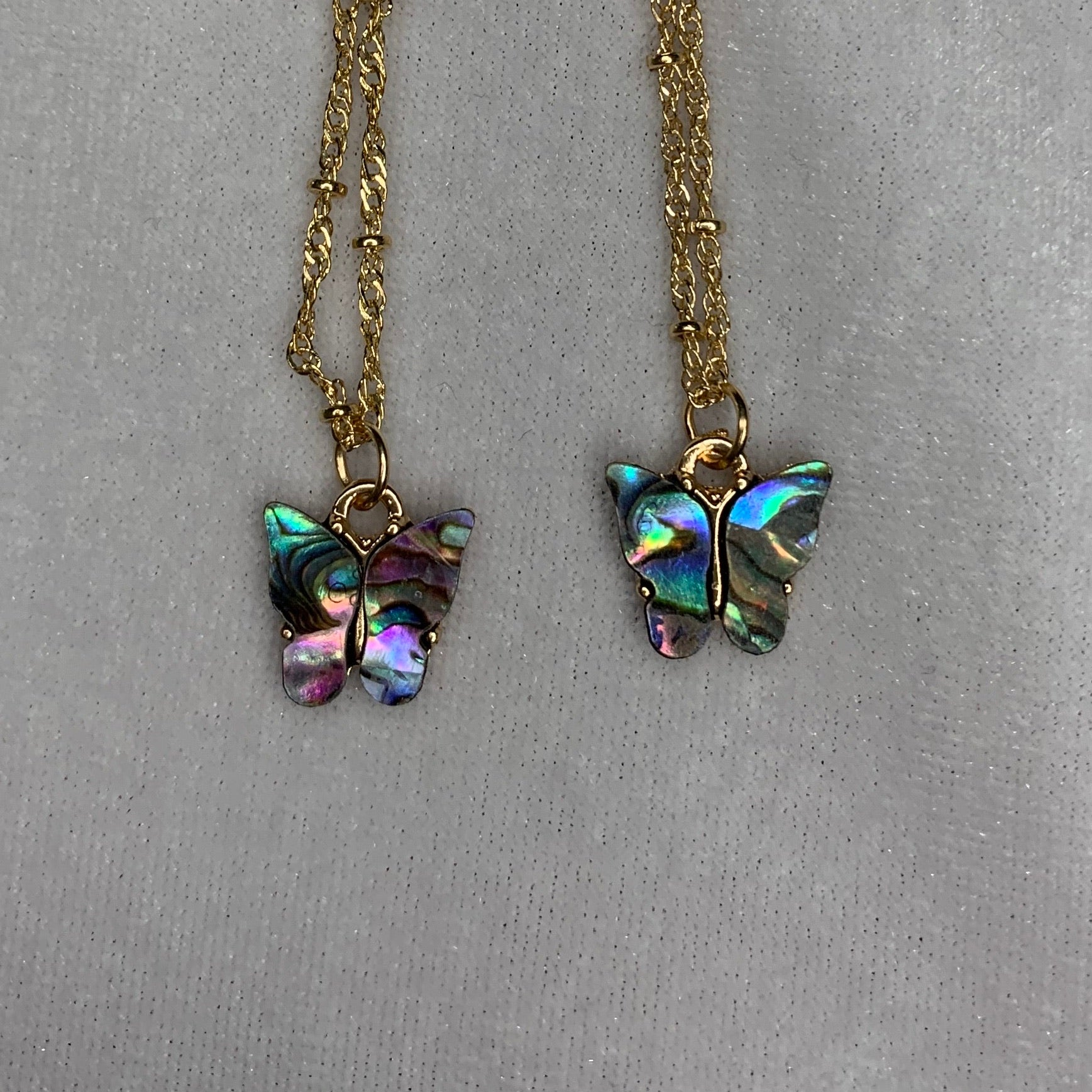 Abalone Mariposa Necklace