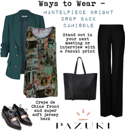 AW14 - Ways to Wear - Mantelpiece Bright Camisole