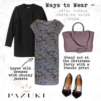 AW14 - Ways to Wear - Metal Tangle Dress