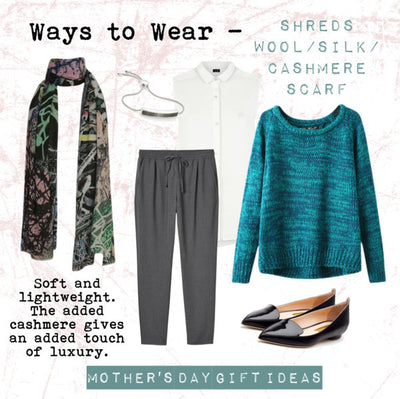 AW14 - Ways to Wear - Pazuki - Shreds Scarf