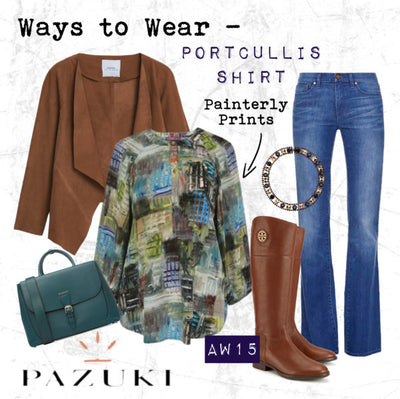 AW15 - Pazuki - Ways to Wear - Portcullis Shirt