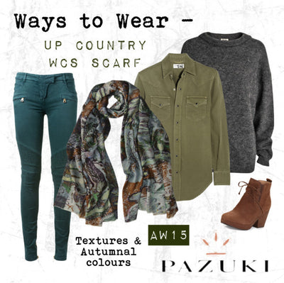 AW15 - Pazuki - Ways to Wear - Up Country WSC Scarf