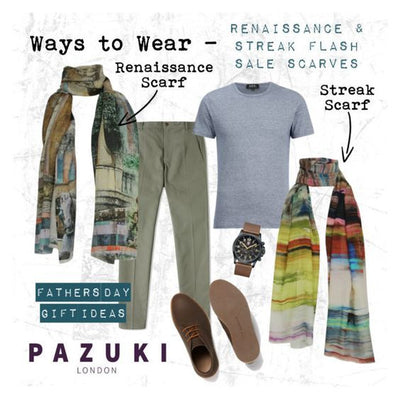 SS15 Flash Sale - Pazuki - Ways to Wear - Fathers Day Gift Ideas