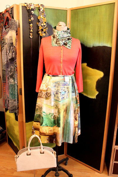 Katie's Saturday Selection - SS15 - La Farmacia Skirt & Art Class Cardigan