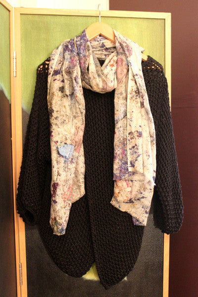 Katie's Saturday Selection - SS15 - Studio Floor Cotton Silk Cashmere Scarf
