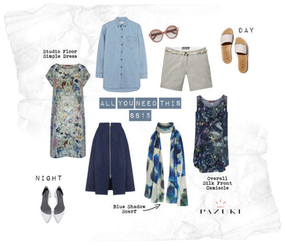 SS15 - Ways to Wear - Pazuki - Capsule Holiday Wardrobe