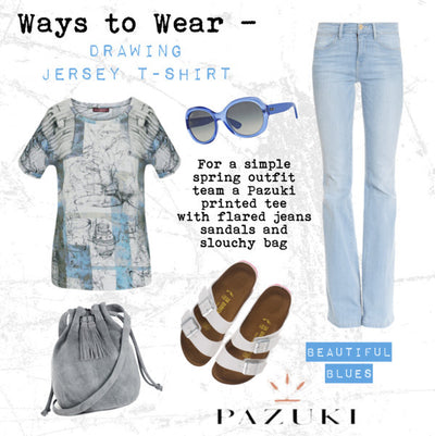SS15 - Ways to Wear - Pazuki - Drawing T-Shirt