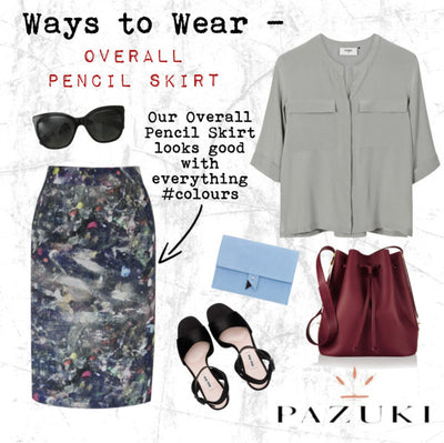 SS15 - Ways to Wear - Pazuki - Overall Pencil Skirt