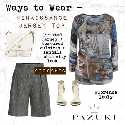SS15 - Ways to Wear - Pazuki - Renaissance Jersey Top
