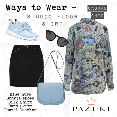 SS15 - Ways to Wear - Pazuki - Studio Floor Shirt