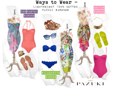 SS15 - Ways to Wear - Pazuki - Summer Sarongs