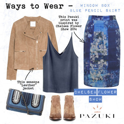 SS15 - Ways to Wear - Pazuki - Window Box Pencil Skirt