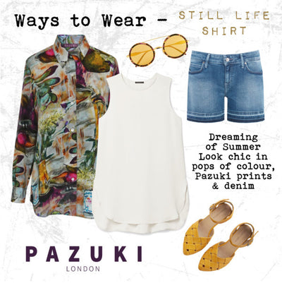SS16 - Ways to Wear - Pazuki - Still Life Shirt