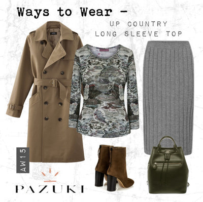 AW15 - Ways to Wear - Pazuki - Up Country Long Sleeve T-Shirt