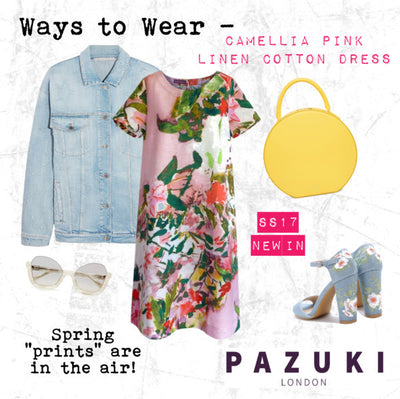 SS17 - Pazuki - Ways to Wear - Camellia Pink Dress