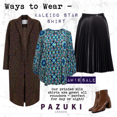 AW16 - Pazuki - Ways to Wear - Kaleido Star Shirt