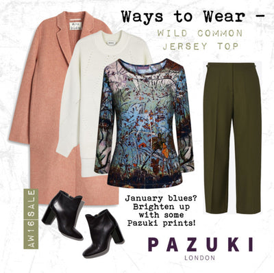 AW16 - Pazuki - Ways to Wear - Wild Common Jersey Top