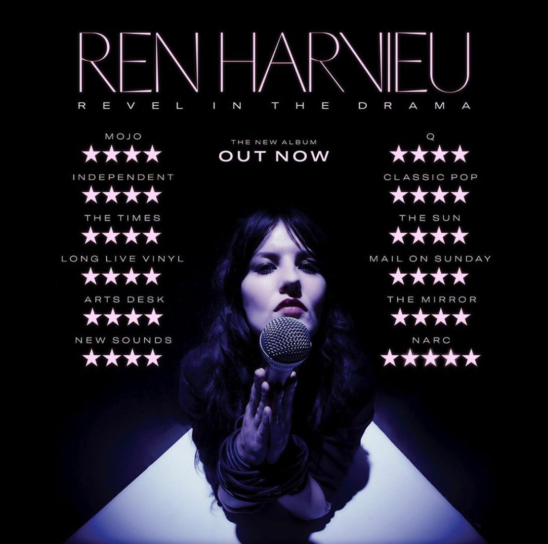 Ren Harvieu Revel In The Drama OUT NOW