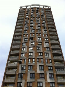 I think tower blocks have great patterns