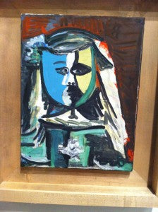 Picasso Art in Barcelona