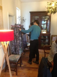 HP France rummaging through the new collection - Making their selections