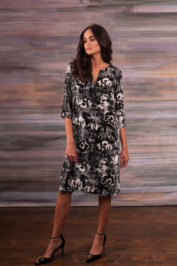 Anticipation - V Neck Tunic Dress
