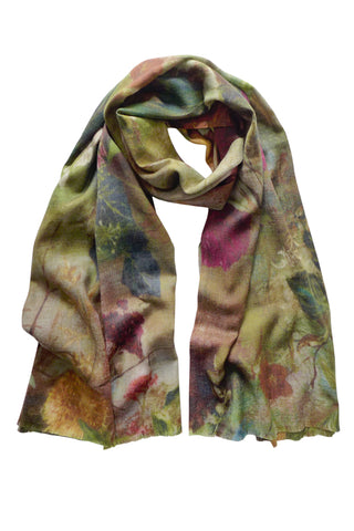 Paradiso Green - (Thick Wool) Scarf