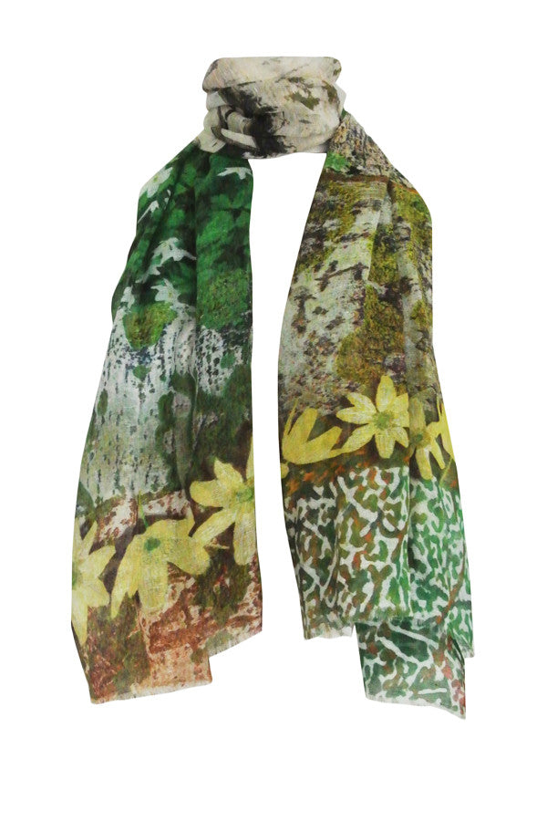 Bark Multi - (Linen/Cotton) Scarf