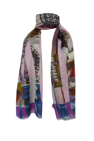 Collection - (Cotton/Silk/Cashmere) Scarf