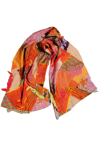 Dream Weaver - Handmade Patchwork Scarf